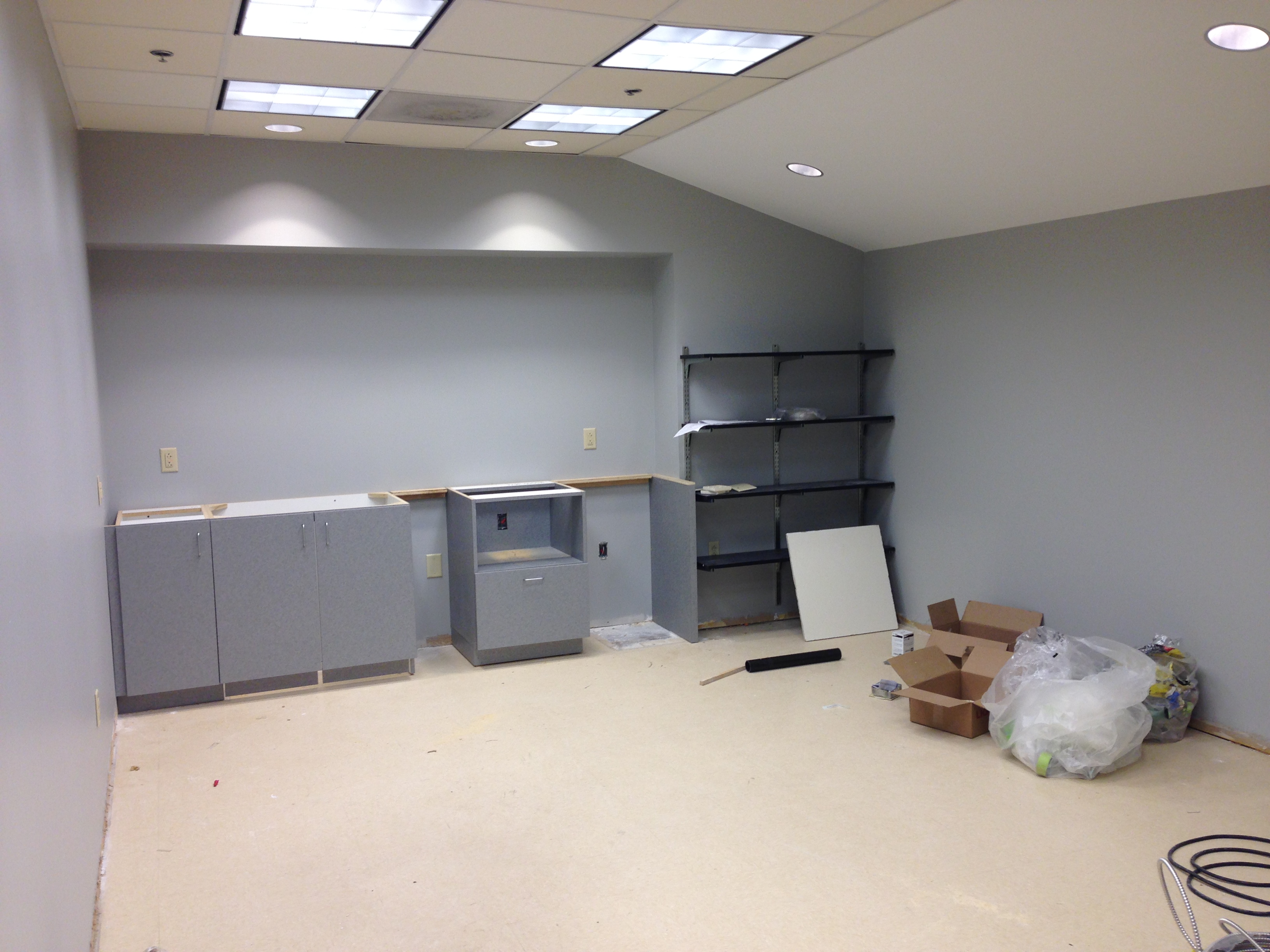 Renovations in the Emerson Center – THE EVANGELISTA LAB